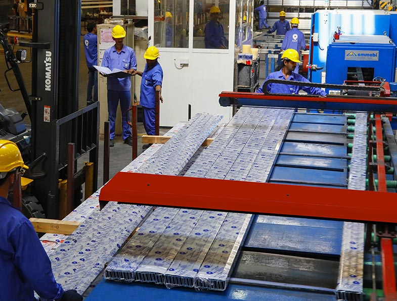 Facilities Provided By Emirates Extrusion Factory LLC